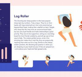 Sleep facts XD UI and animation