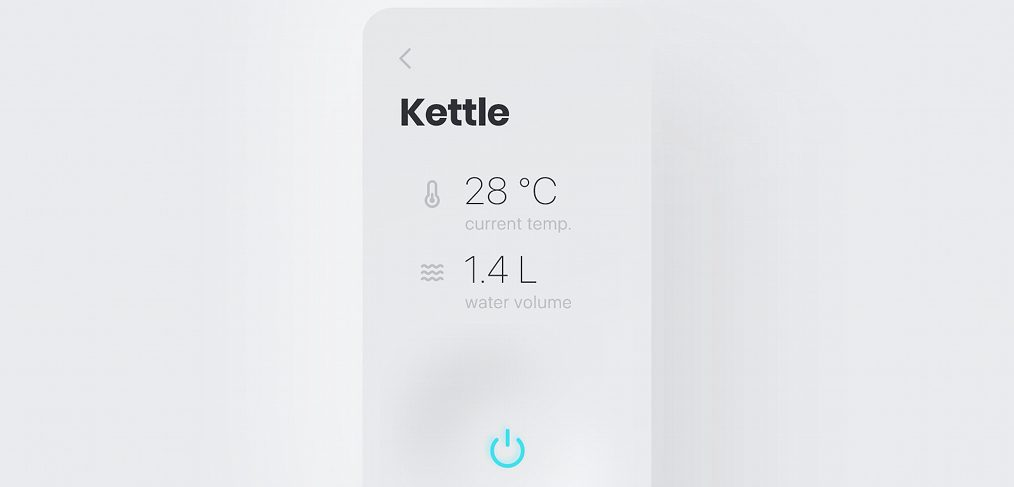 Kettle app XD animation concept