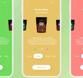 XD Ecommerce interaction concept