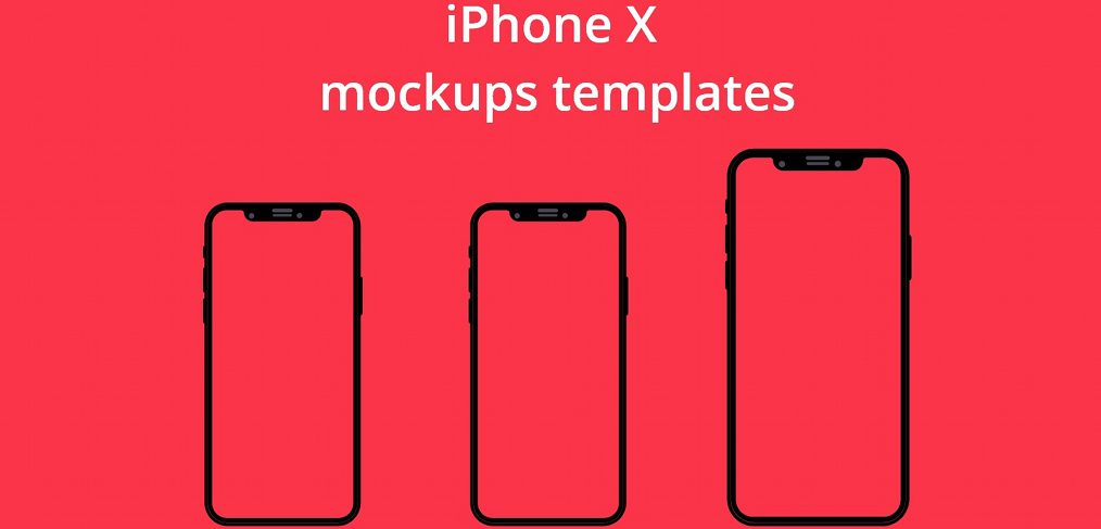 FREE XD iPhone X mockups