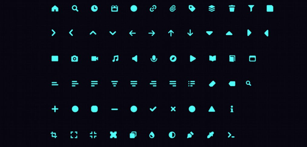 beTach free XD icon set