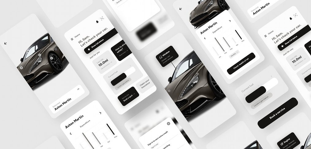 Car checkup XD app template