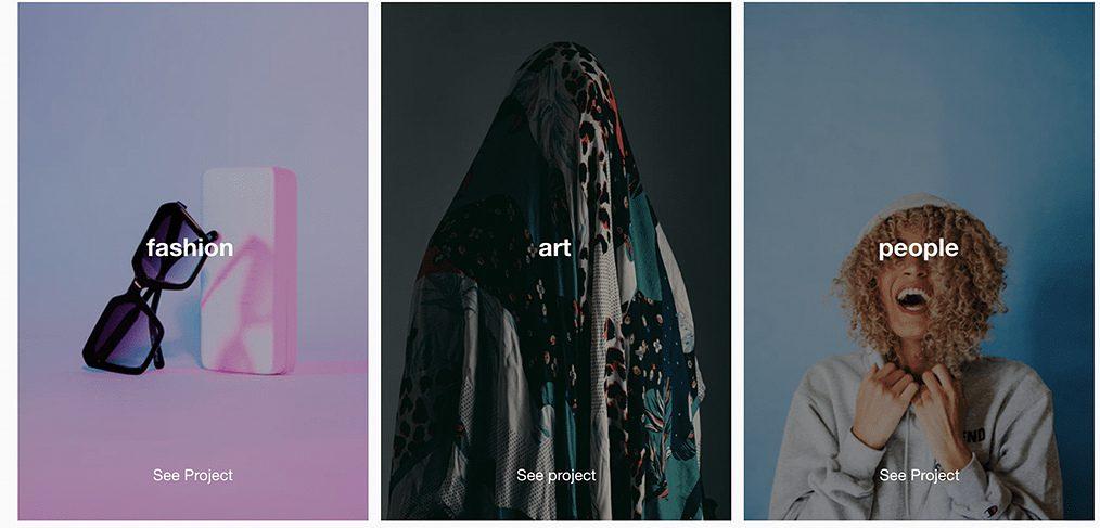 Creative portfolio free template
