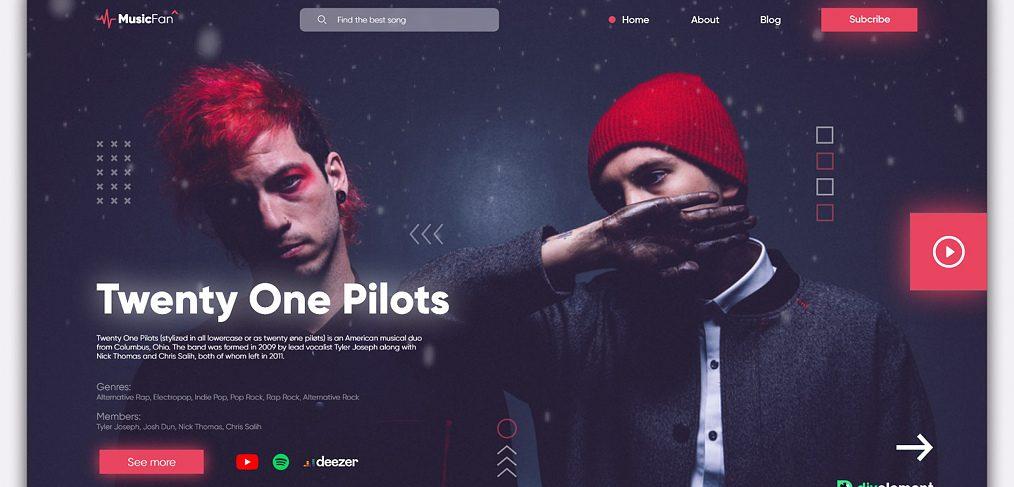 XD music service concept