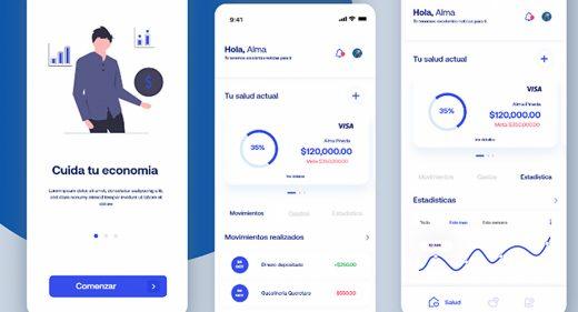 XD wallet app concept