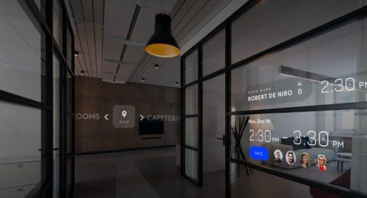 AR Office XD animation prototype
