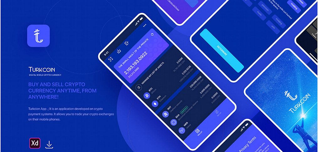Turkcoin Crypto app template